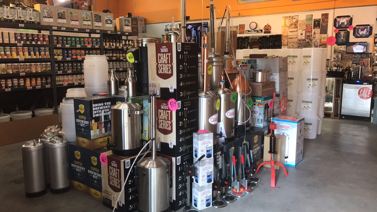 home brew equipment nz