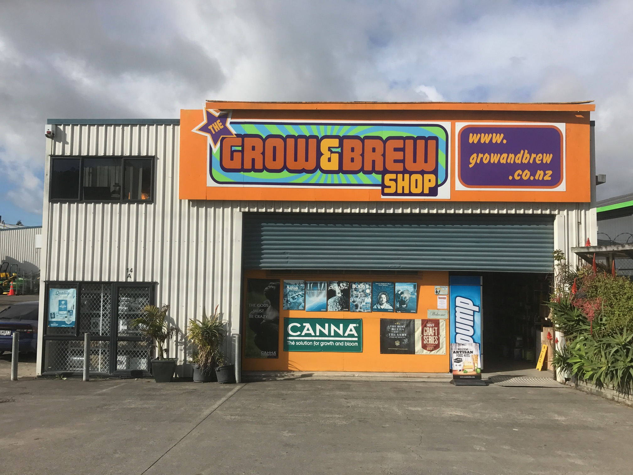 grow and brew shop auckland