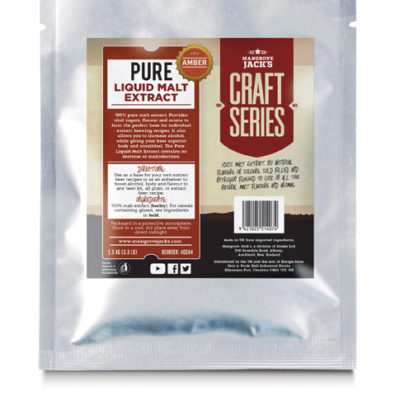 Pure Liquid Malt Extract Amber Large