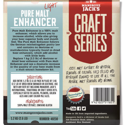 Pure Malt Enhancer Light LARGE