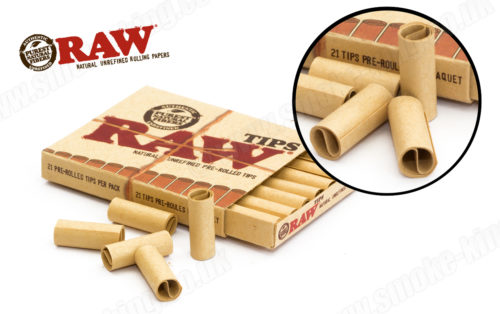 Raw Pre Rolled Filter Tips Grow Amp Brew